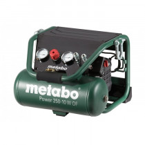 Компрессор Metabo Power 250-10W, 220В, 1,5кВт, 220л/мин, 10л, 10бар, 21кг